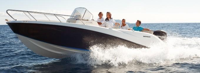 Motos acuáticas y embarcaciones de recreo
